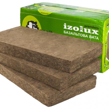 Плита «Izolux Premium» густиною 160/145/140/135/130/125/120/115 кг/м. куб.